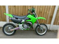 Kx65 motor cross kids bike