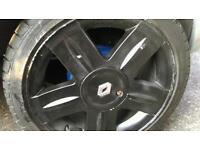 Original wheels for Renault Clio or megane