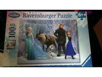 100 piece Frozen jigsaw puzzle age 6+