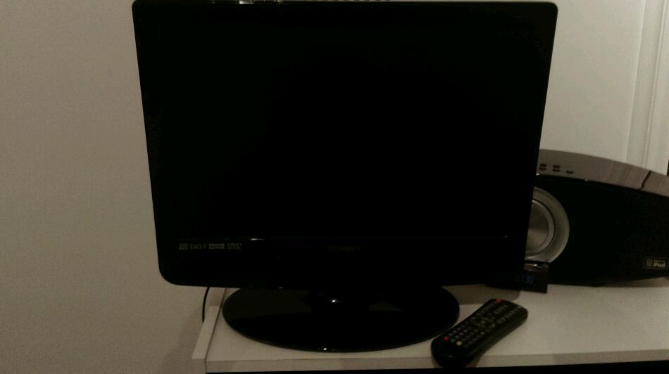 "Technika 19"" tv with built in dvd"