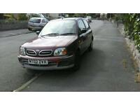 Nissan Micra 02 SPARES AND REPAIRS ONLY