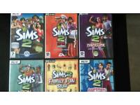 Pc games the Sims 2