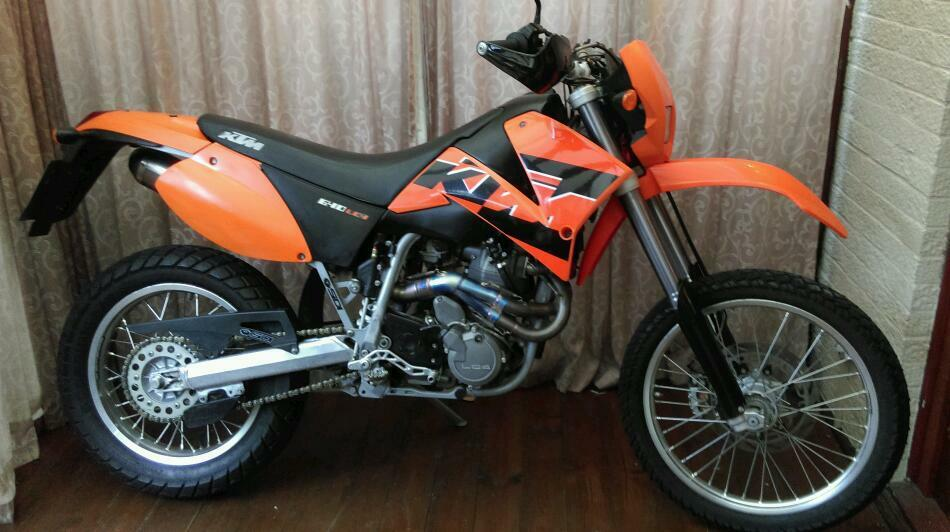 ktm 640 lc4 enduro supermoto in steyning west sussex. Black Bedroom Furniture Sets. Home Design Ideas