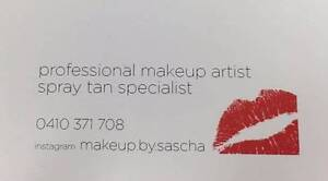 Makeup and Spray Tanning By Sascha Bondi Beach Eastern Suburbs Preview