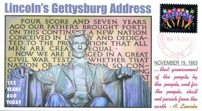 COVERSCAPE computer designed 155th Lincoln's Gettysburg Address event cover