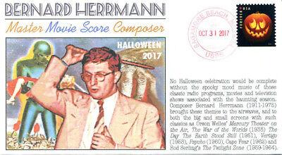 generated Halloween 2017 Bernard Herrmann event cover (Usa Halloween 2017)