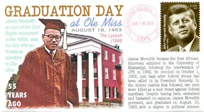 COVERSCAPE computer designed 55th Anniversary James Meredith graduation cover
