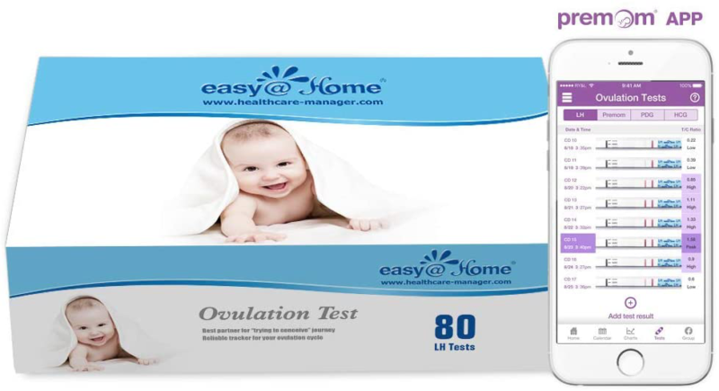 easy home ovulation test strips 80 pack