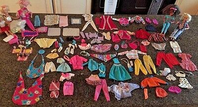 Vintage Huge Barbie Doll Lot - Dolls, Clothes, Accessories & More! WOW!