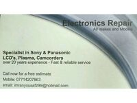 Tv electronics repair