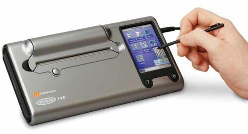 MICROLAB CAREFUSION 3500 COLOUR LCD TOUCHSCREEN SPIROMETER CARDIO PRINTER TESTER