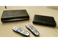 Sky+ HD bix and mini box