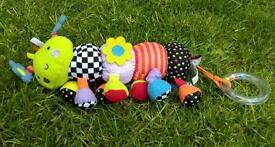 Baby activity toys £1 - £2.50 each