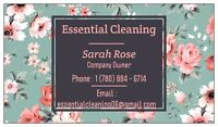 Essential Cleaning celebrating the New Year with new rates!