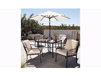 BNIB Haversham 6 piece garden patio set