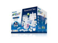 BRAND NEW, UNUSED, BOXED PHILIPS AVENT CLASSIC + ESSENTIAL SET