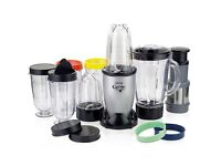 Hinari The Genie Multi-Attachment Blender - Like New with box and manual