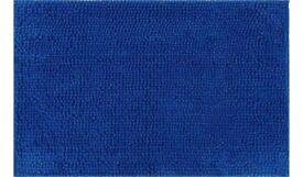 Chenille Bath Mat - Brilliant Blue: Brand New