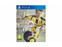 PS4 FIFA 17 boxed in excellent condition. Playstation 4