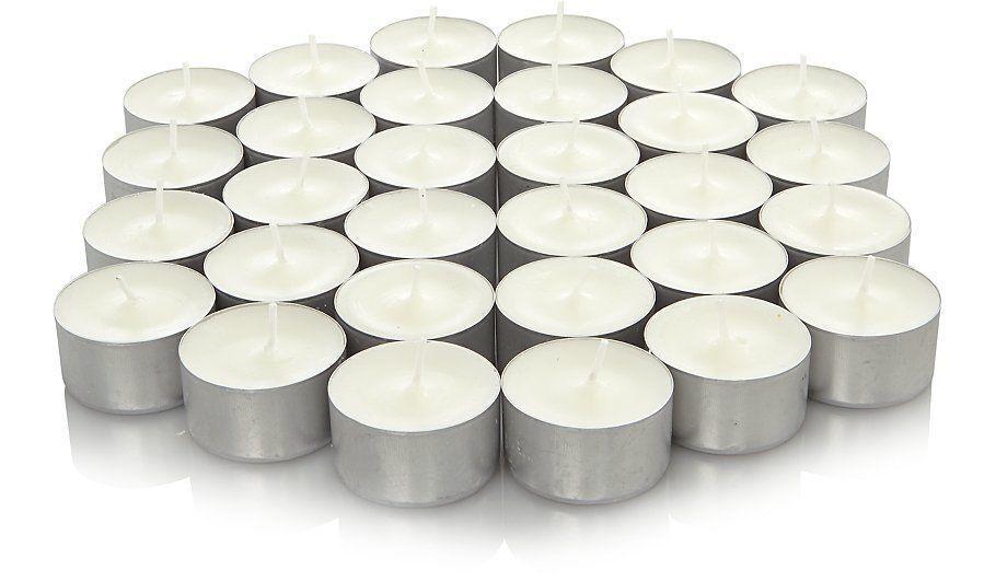 Tea light Wild Jasmine Scented Candle White Wax 3.5hr Burn 38mm Aroma Restaurant