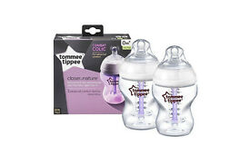New tommee tippee anti colic bottles set