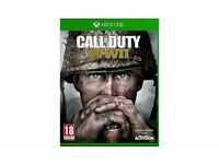 Call of Duty WW II Xbox one