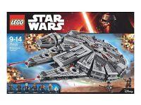 Lego Star Wars 75105 Millenium Falcon Brand New in Sealed Box