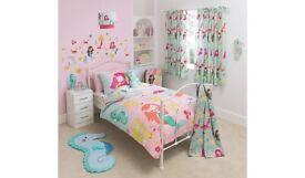 Girls Mermaid Bedroom Bundle