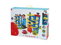 Playgo Tower City Car Park Deluxe (RRP £48)