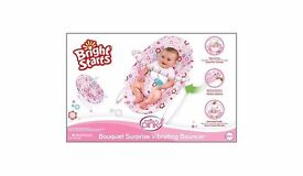 Bright Starts Baby Vibrating Bouncer Rocker Swing BRAND NEW BOXED SEALED