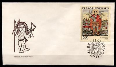 Slowakische Ikonen. Hl.Erzengel Michael. FDC. Tschechoslowakei 1970.