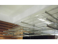 1x Large Slatwall acrylic shelf