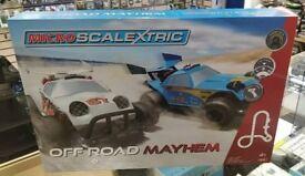 Micro Scalextric off-road Mayhem