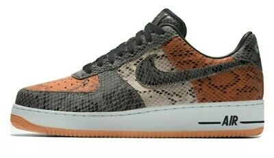 Air Force 1 Nike By You ID Shattered Backboard Snake Skin Size 9 US Men's