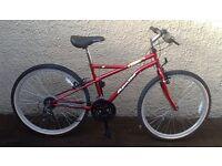 "Bike/Bicycle. GENTS APOLLO "" MANIC "" MOUNTAIN BIKE"