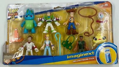 Fisher-Price Disney Pixar Toy Story 4 Imaginext Deluxe Figure Pack NEW OPEN BOX