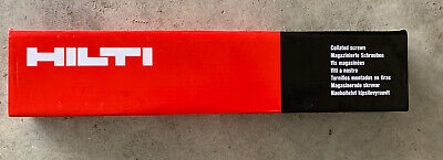 1000 Drywall Screws 6 X 1-14 Pbh Sd M Black Hilti Brand Ph2 Collated 1 Box
