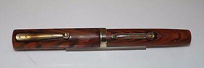 Vintage WATERMAN 52V  RIPPLE Vest Pocket Fountain Pen Restored