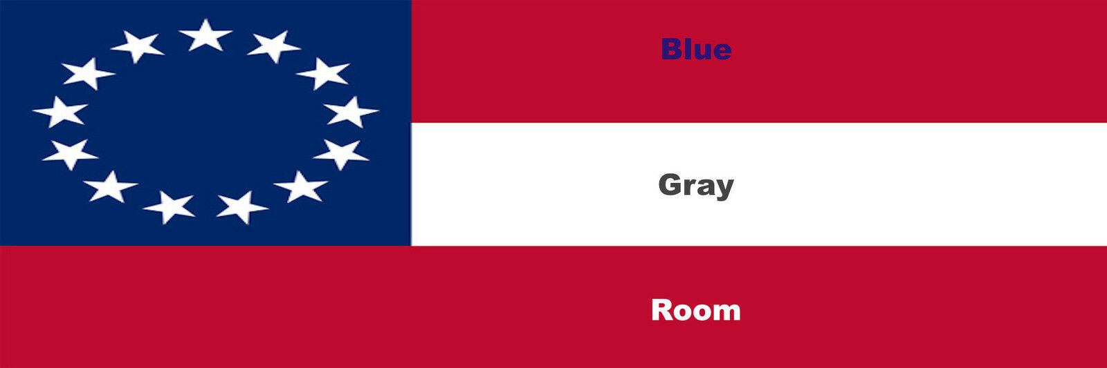 The Blue/Gray Room