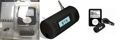 EXSPECT EX477 Black FM Transmitter for IPOD NANO Player + 3G Black Silicone Case Ipod Nano 3 Silicon Case