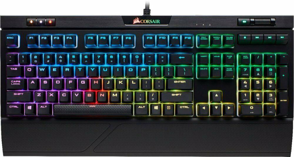 NEW CORSAIR STRAFE RGB Backlit MK.2 Mechanical Gaming Keyboa