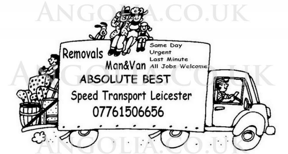Man Van Leicester Transport Services Motorcycles Removals Last
