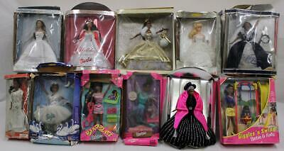 Lot of 14 Barbies and Other Items-Coca Cola, Horse Riding, Holiday & More NR