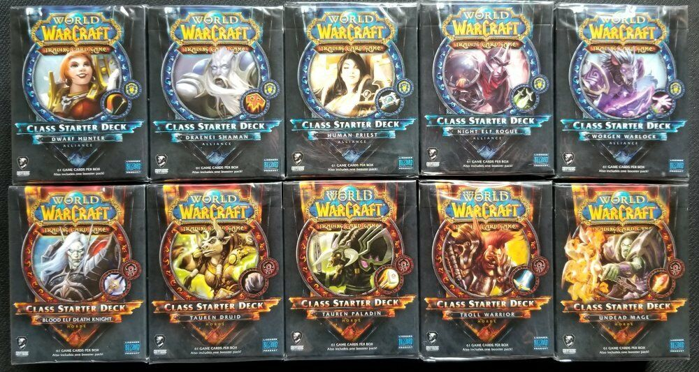CLASS STARTER DECK LEARN TO PLAY WoW ALLIANCE HUMAN DEATH KNIGHT