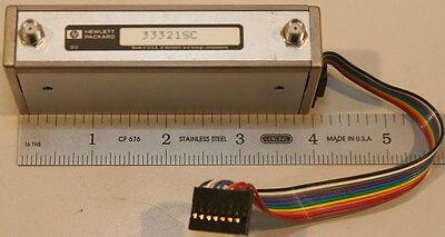 Agilenthp 33321sc Programmable Attenuator Dc-4 Ghz 0-70 Db 10 Db Steps