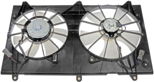 Engine Cooling Fan Assembly-Radiator Fan Assembly fits 03-07 Accord 2.4L-L4