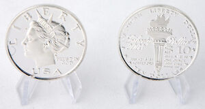 LOT OF 2 - 2003 Norfed $10, 1 oz 999 fine Silver Rounds