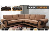 **EXPRESS DELIVERY**BRAND NEW ANCONA CORNER SOFA OR 3+2 SOFA SET-VARIOUS FABRICS-VARIOUS COLOURS