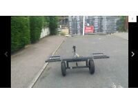 SOLID HEAVY DUTY CAR/VAN TOWING DOLLY WITH WINCH