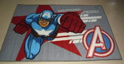 Marvel Avengers Kids Play Rugs IronMan, CaptainAmerica, Thor&Hulk